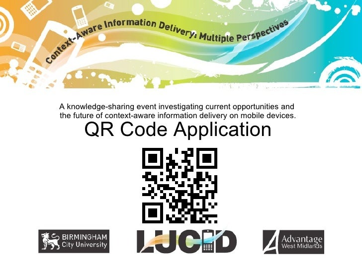 Lucid  Demonstrator: QR Code trail
