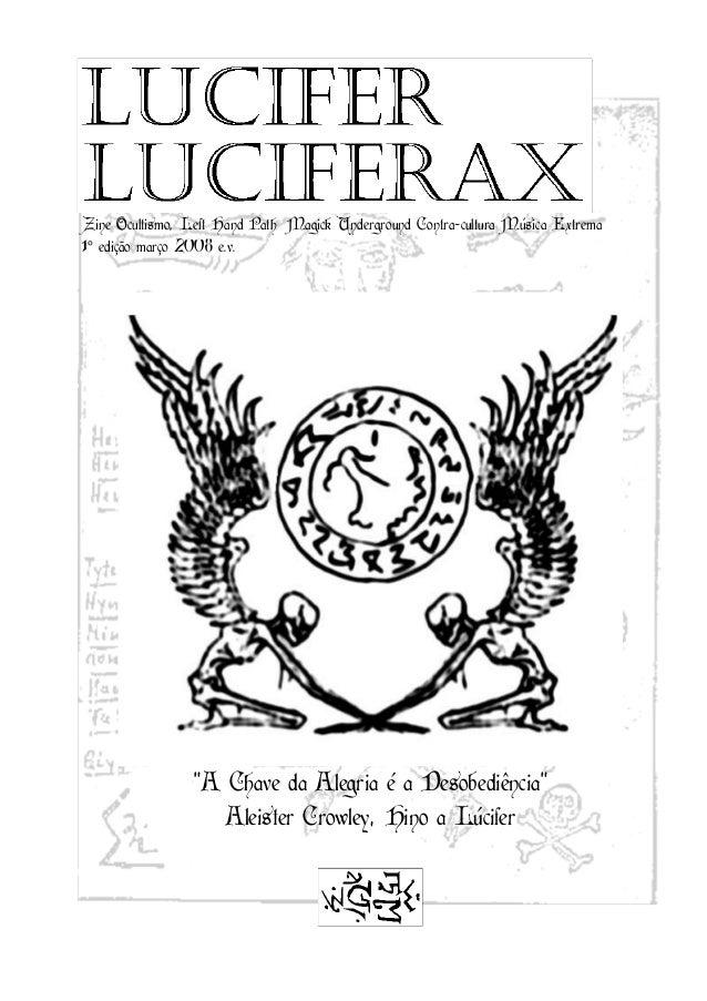 """Zine Ocultismo, Left Hand Path Magick Underground Contra-cultura Música Extrema1° edição março 2008 e.v.                """"A..."""