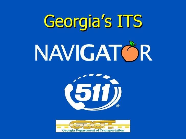 Georgia's ITS