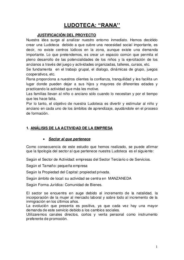 Ludoteca+rana+(proyecto+ana+y+raquel)