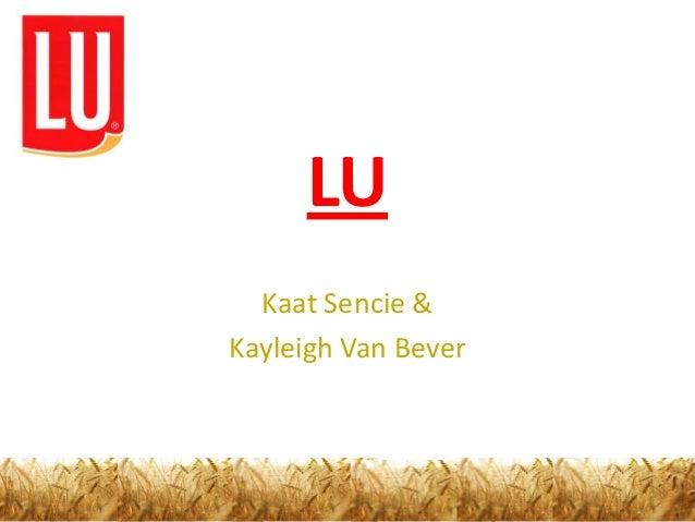 LU  Kaat Sencie &Kayleigh Van Bever
