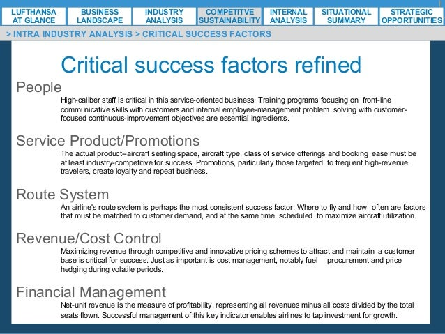 critical success factors for singapore airline Pefindo rating criteria & methodology 1/3 july 18, 2017 airline industry - key success factors business risk assessment.