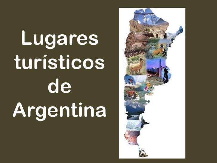 Lugaresturísticos    deArgentina