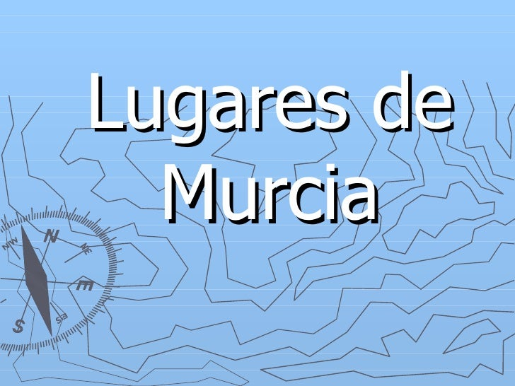 Lugares de Murcia