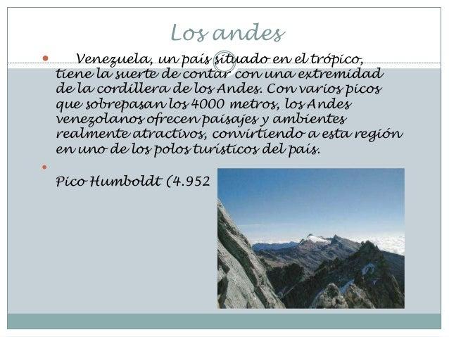 Lugares turisticos de venezuela(los andes2)