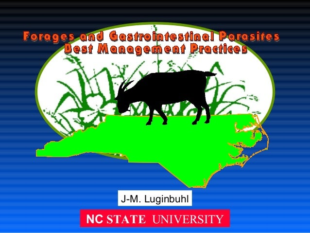 J-M. Luginbuhl  NC STATE UNIVERSITY