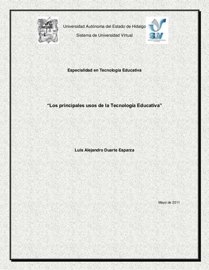 4340255-283107310515-283107Universidad Autónoma del Estado de Hidalgo<br />Sistema de Universidad Virtual<br />Especialida...