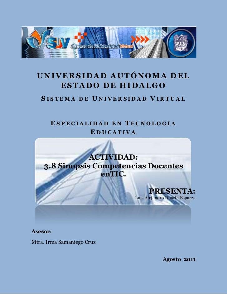 Luis duarte actividad_3.8_competencias docentes en tic