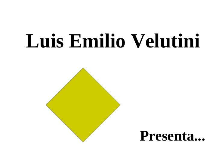 Luis emilio velutini dar el primer paso
