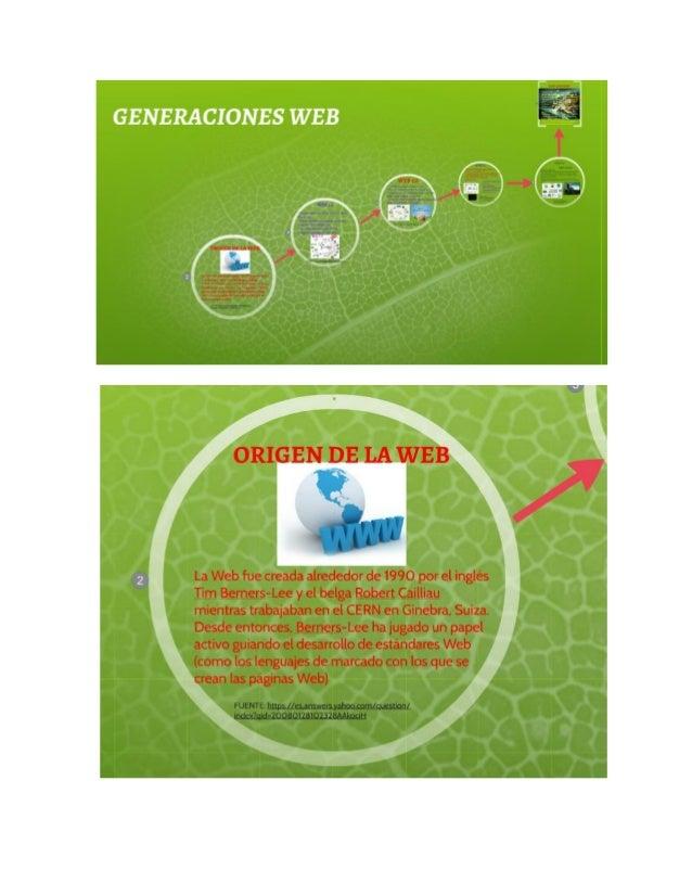 GENERACIONES WEB