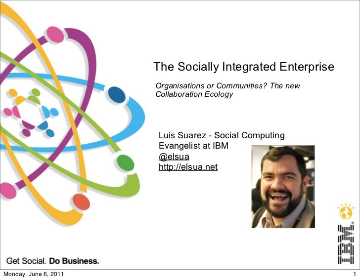 The Socially Integrated Enterprise                       Organisations or Communities? The new                       Colla...