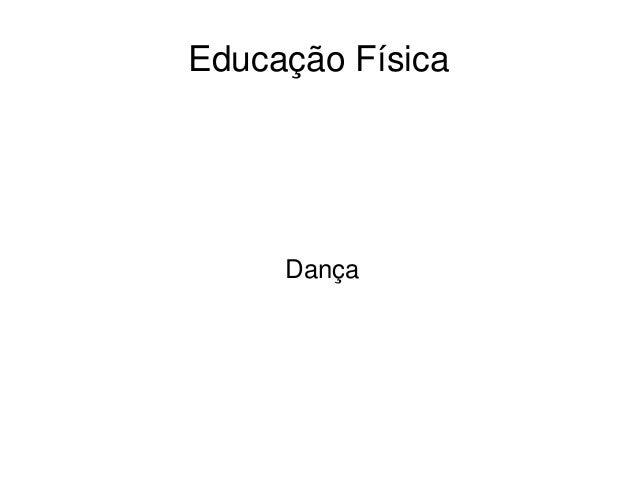 EducaçãoFísica Dança