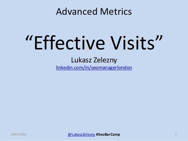 Lukasz Zelezny #SEOBarCamp July 2013