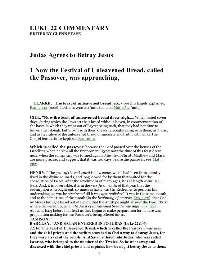 luke 2 21 38 commentary on genesis