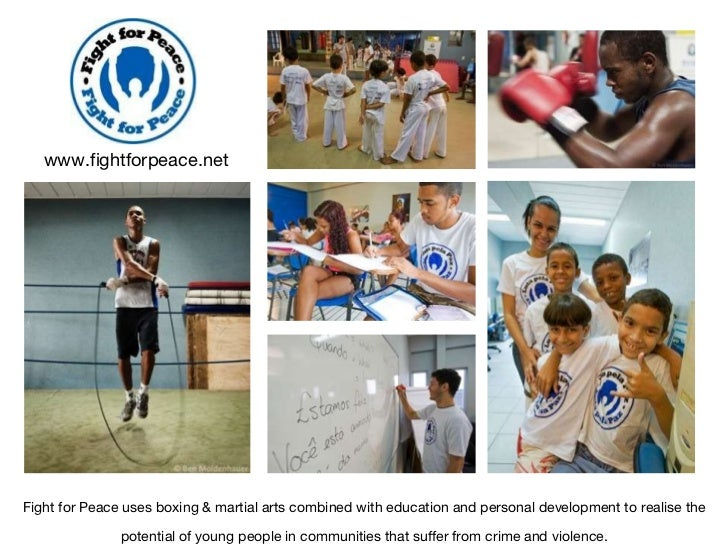 Fight for Peace uses boxing & martial arts combined with education and personal development to realise the potential of yo...
