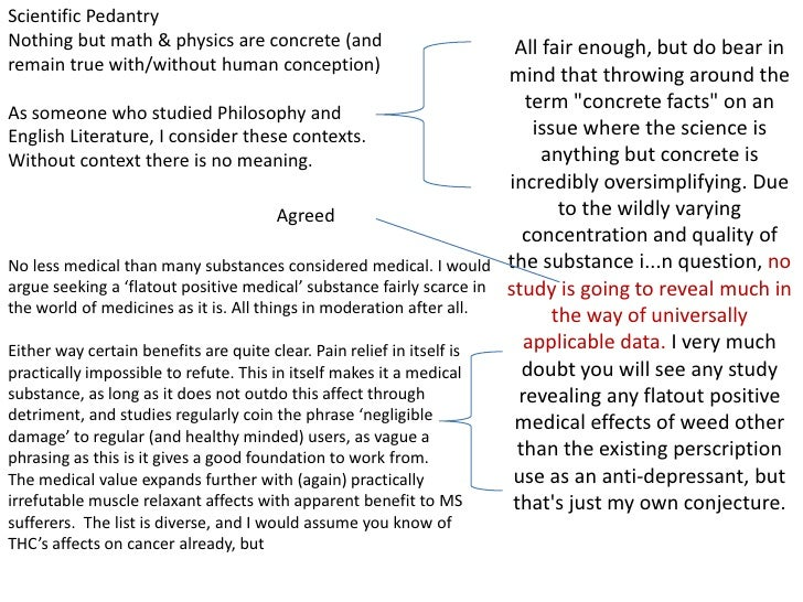 Scientific Pedantry<br />Nothing but math & physics are concrete (and remain true with/without human conception)<br />As s...
