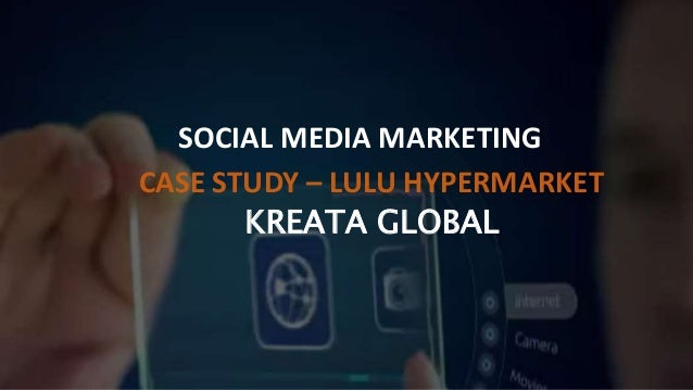 case studies social media marketing The sme who wins at social media marketing on a this real case study of an sme winning at social media marketing shows that anyone can reap the benefits of.