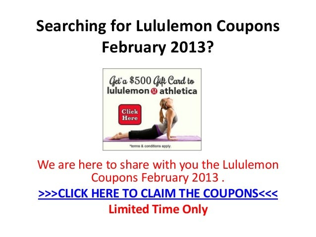 Lululemon Today's Deals