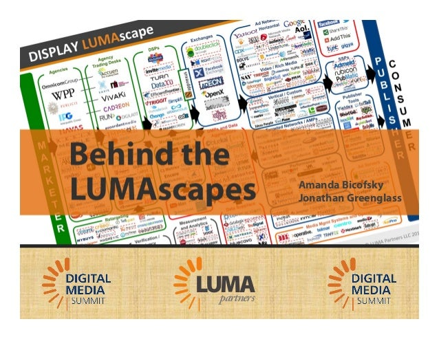 LUMA's Behind the LUMAscapes for DMS13