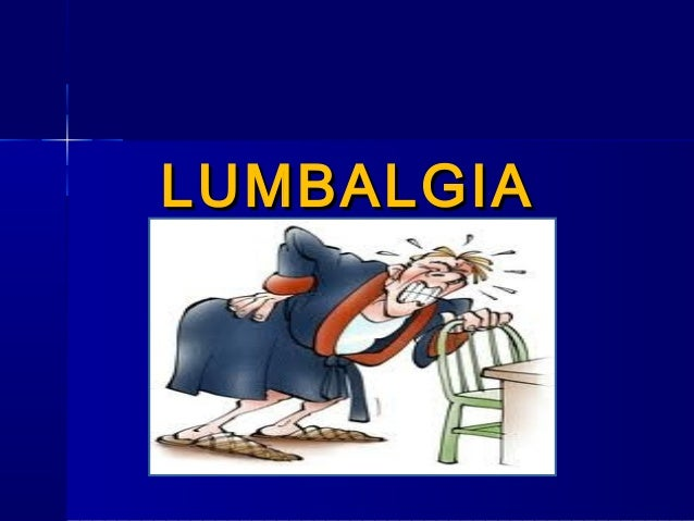 Lumbalgia