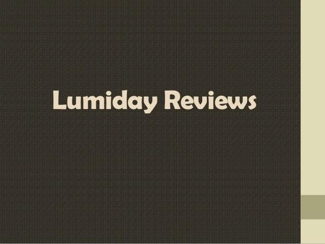 Lumiday Reviews
