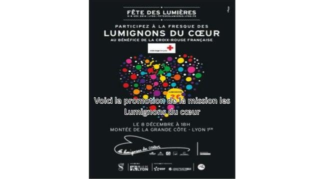 Plusieurs lumignons suspendu à l'occasion de la très célèbre fêtes lyonnaise