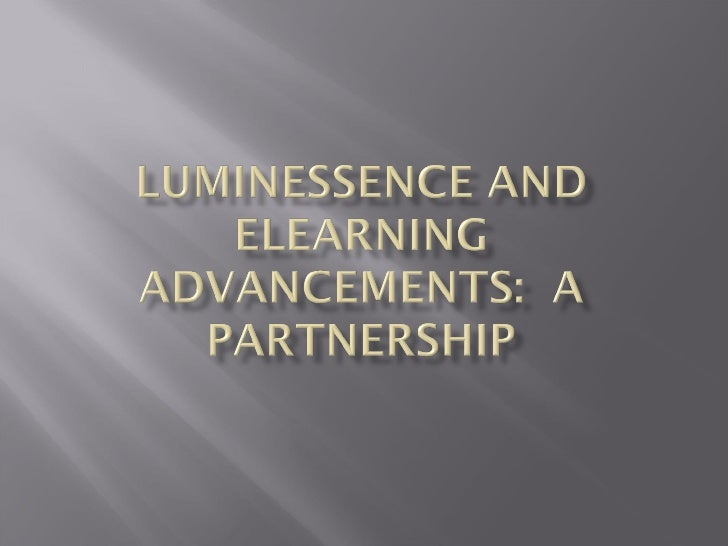 Lumin Essence And E Learning Advancements Partnership
