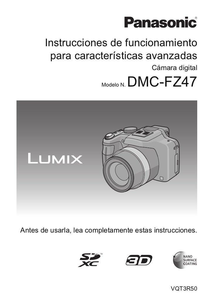 Lumix fz47 avanzado