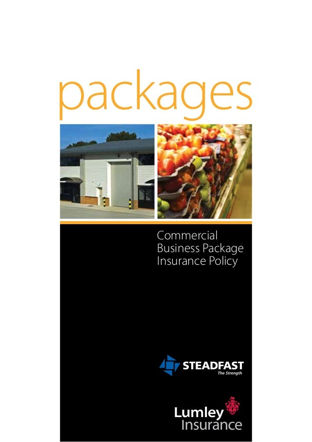 packages    Commercial    Business Package    Insurance Policy