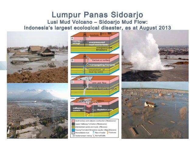 Lumpur Panas Sidoarjo Lusi Mud Volcano – Sidoarjo Mud Flow: Indonesia's largest ecological disaster, as at August 2013