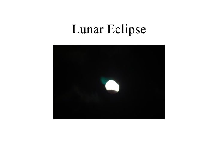 lunar eclipse