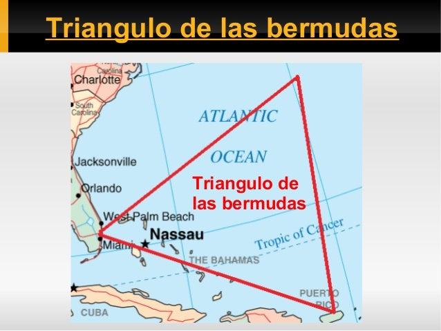 Triangulo de las bermudas  Triangulo de las bermudas
