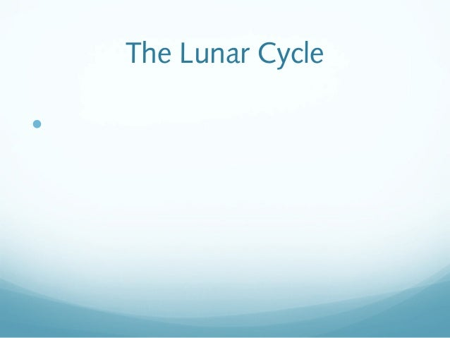 The Lunar Cycle