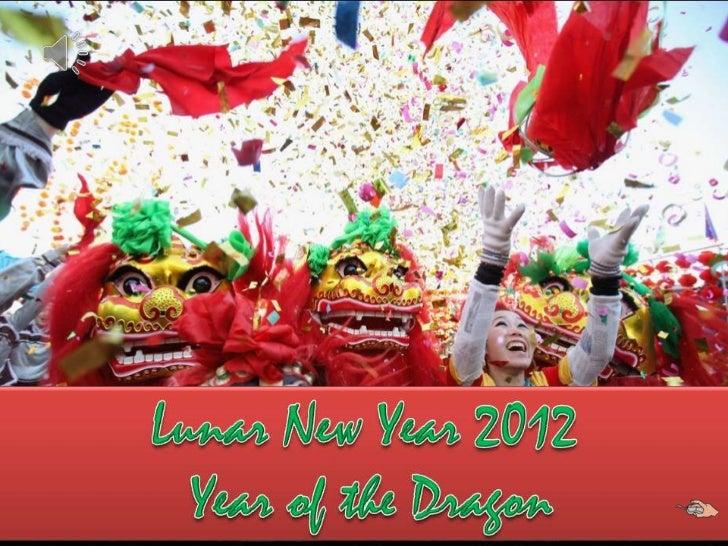 Lunar new year 2012 -Year of the Dragon