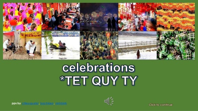 Lunar new year celebrations TET QUY TY