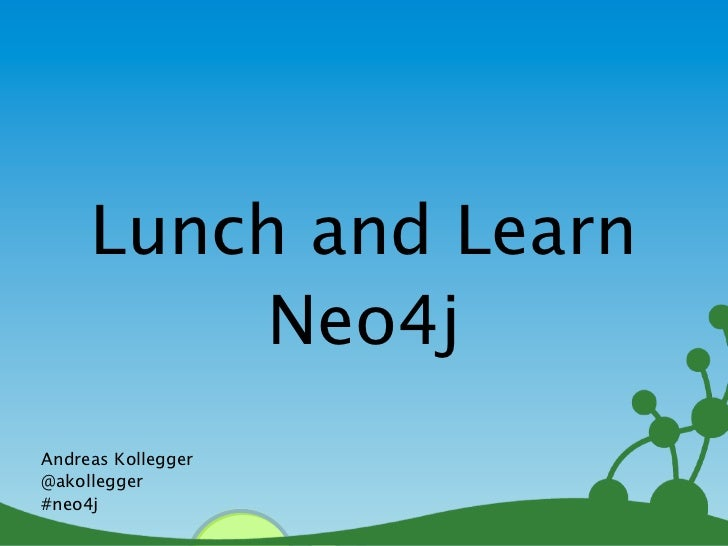 Lunch and learn cypher