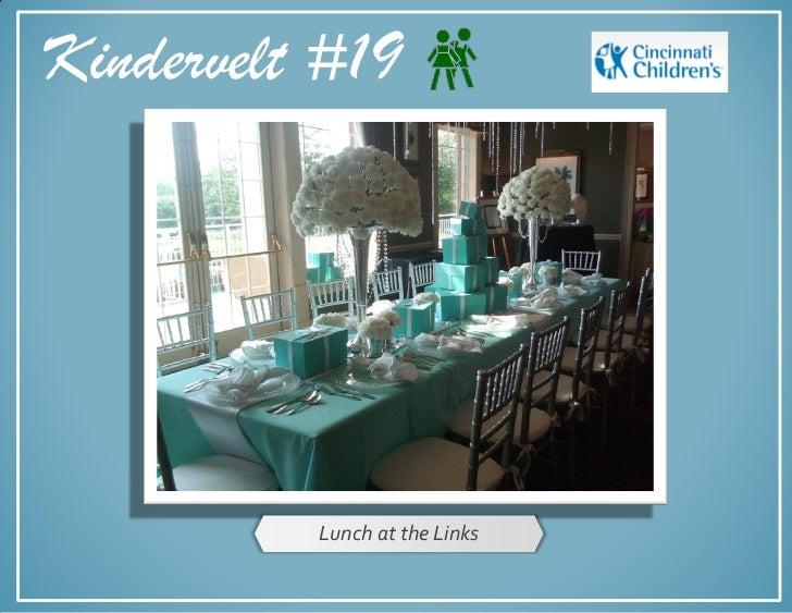 Kindervelt #19          Lunch at the Links