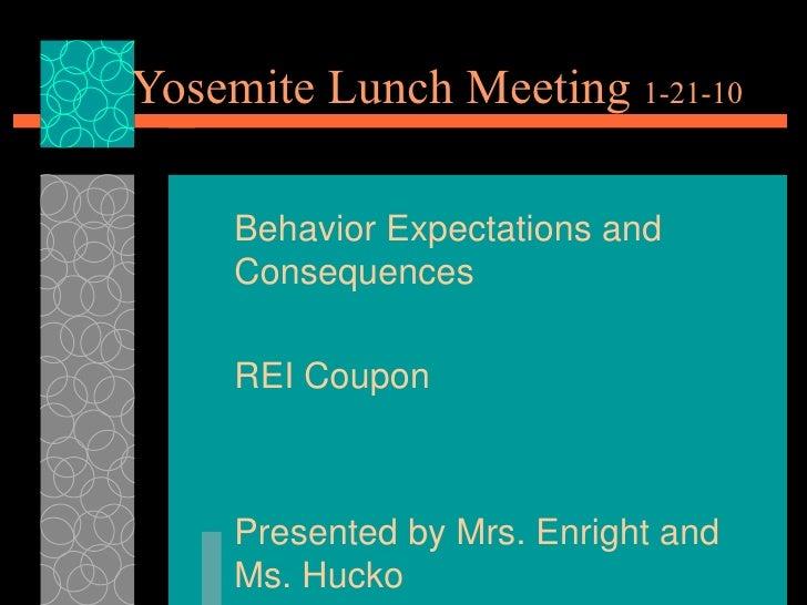 Lunch Meeting3 - Jan 21, 2010