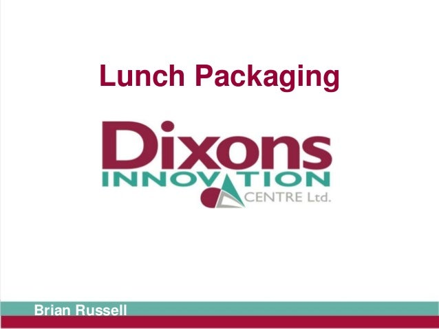 Lunch PackagingBrian Russell