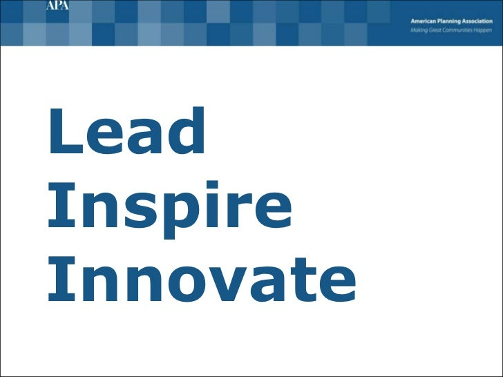 Lead Inspire Innovate
