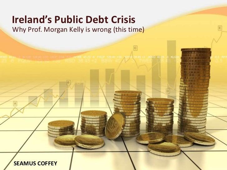 Ireland's Public Debt Crisis