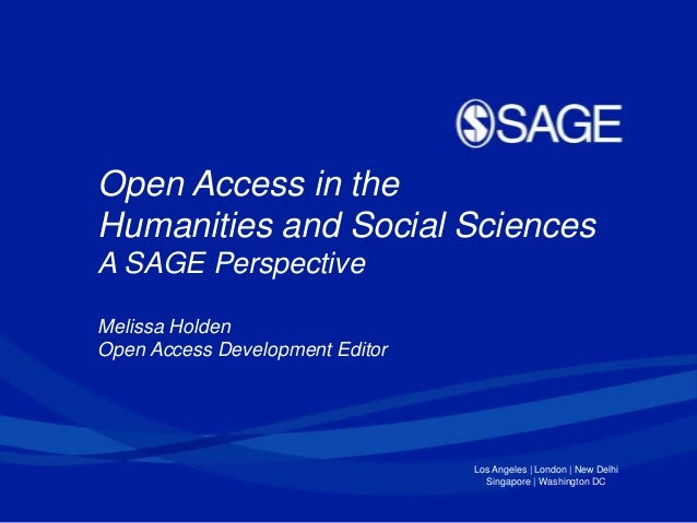 "What's the Big Deal with Open Access? Traditional Publishing Houses and OA"" – Thoughts from Lund Online"