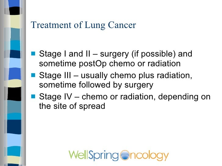 a description of a diagnosis and possible treatment for cancer