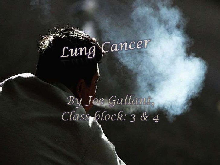 What it is,Pollution has a heavy affect on thelungsLung cancer is higher amongAfrican Americans