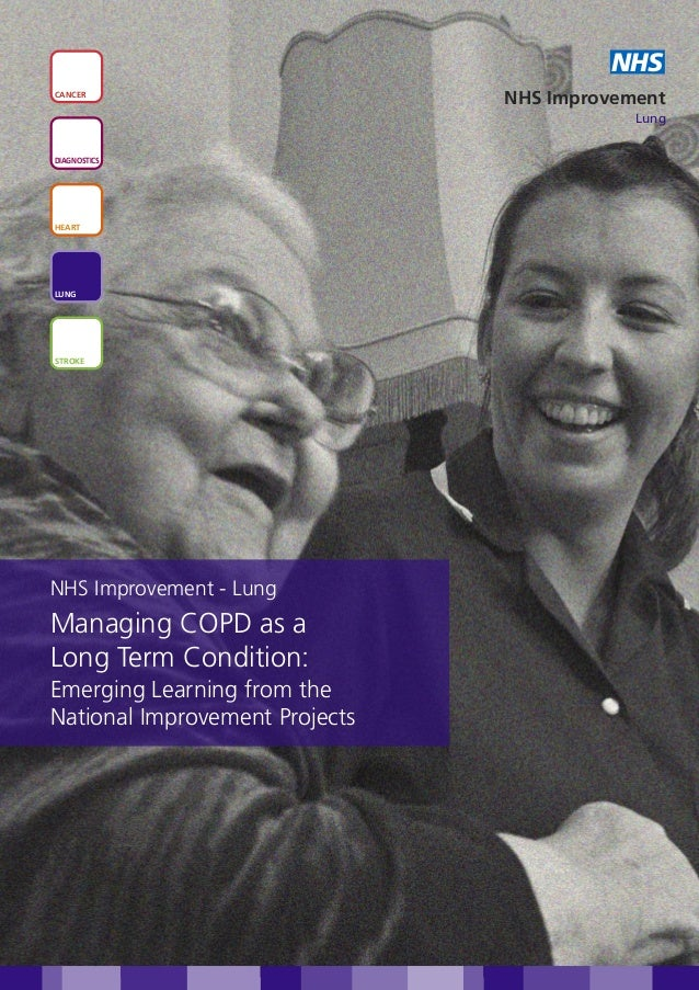 Managing COPD as a long term condition: emerging learning from the national improvement projects