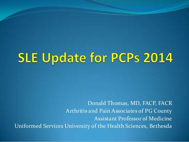 Lupus update for Primary Care Providers 2014