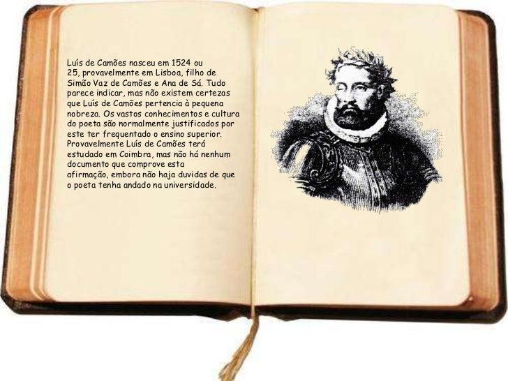 Luis de Camoes nasceu