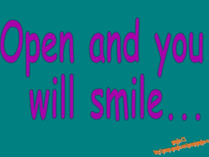 Open and you will smile... grapjes CS http://groups.google.com/group/grapjes-cs