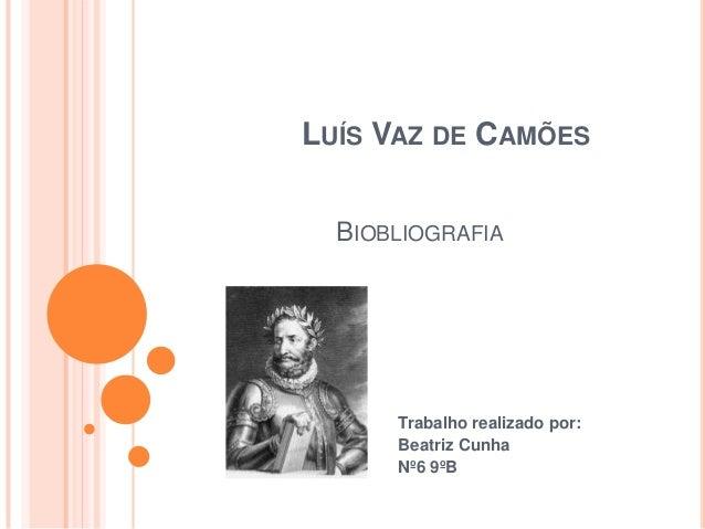 Luis de Camoes slideshare