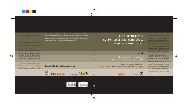 Lutas camponesas contemporâneas: condições, dilemas e conquistas - Volume 1